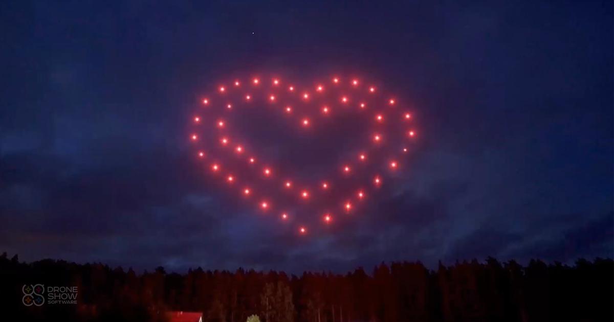 drone lichtshow in nederland droneshow